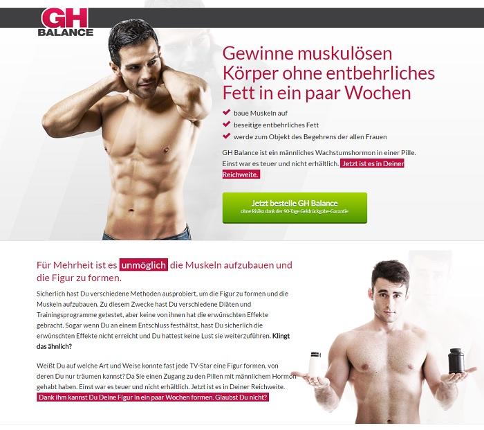 gh balance homepage