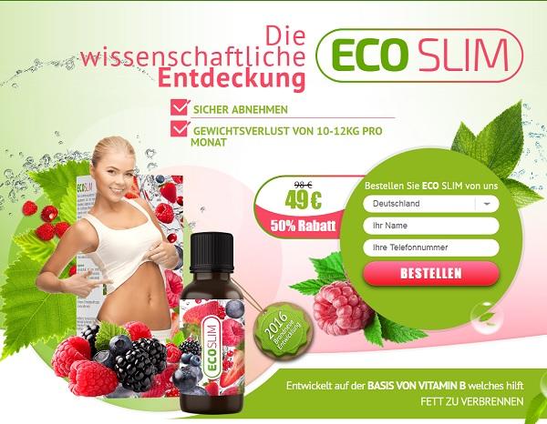 ecoslim homepage