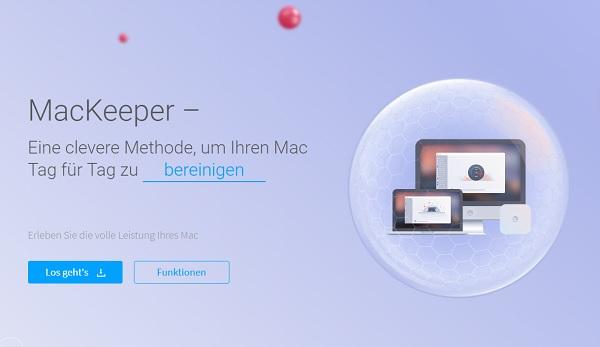 mackeeper homepage