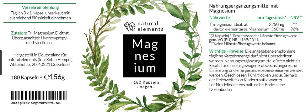 Magnesium Kapseln Erfahrungen & Test
